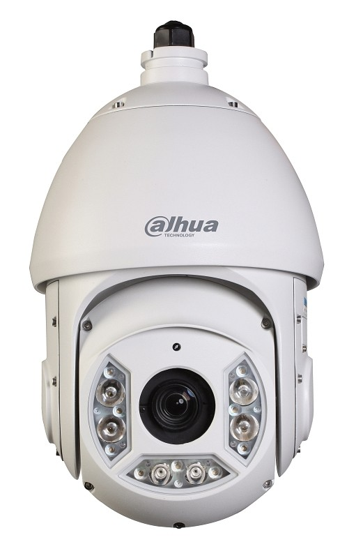 IPC-SD6C230UN-HNI 2MP 30x Optical 490FT IP66 IP PTZ Hanging IR Dome Camera